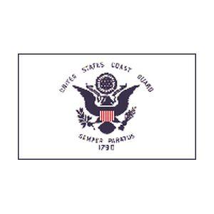 US Coast Guard 3×5 – Polyblend Duranet Nylon