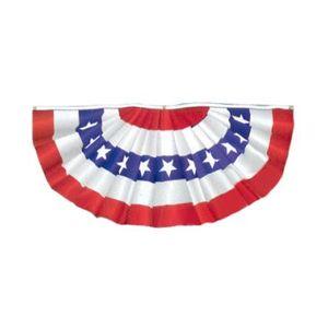 US Fan Flag 1.5×3 3×6 – Printed Polycotton