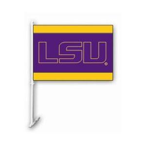 LSU Car Flag Letter