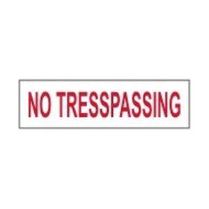 No-Tresspassing