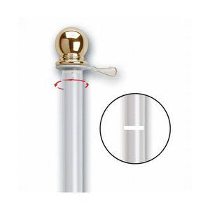 Pole-6-White-Rotating